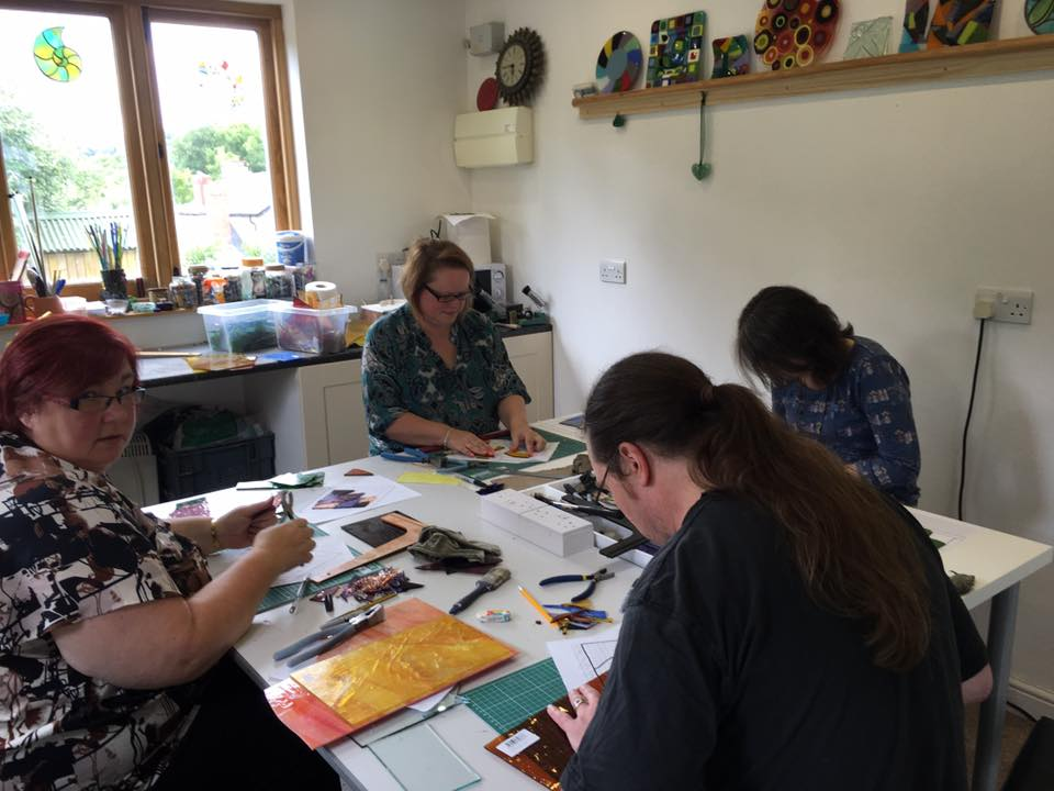 Stained Glass Course - Introduction to Copper Foil Technique