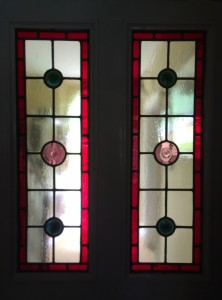 Traditional Leaded Stained Glass Panels