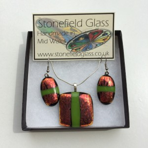 Dichroic Fused Glass Jewellery